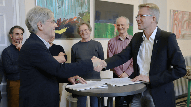 Arineo enters into cooperation with the Max Planck Gymnasium in Göttingen